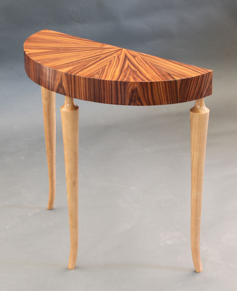 SUNBURST END TABLE